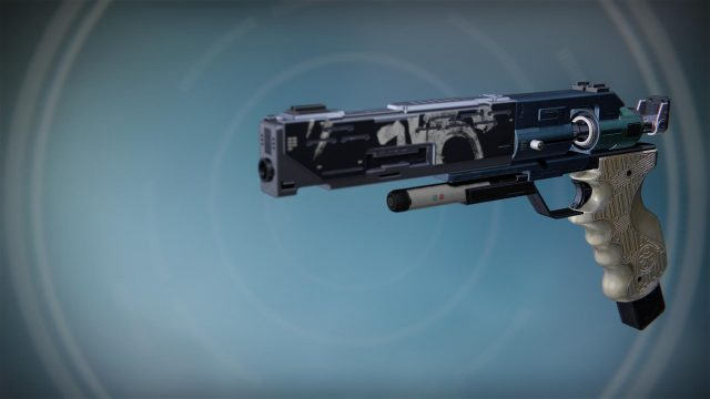 Destiny: Rise of Iron Trespasser Exotic Sidearm