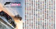 Forza Horizon 3 Unlockable Cars