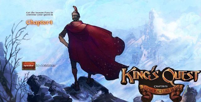 King's Quest 2015: Chapter 4 Walkthrough