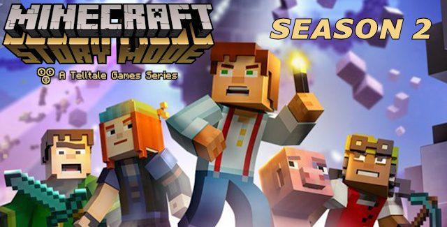Minecraft: Story Mode Season 2 Release Date