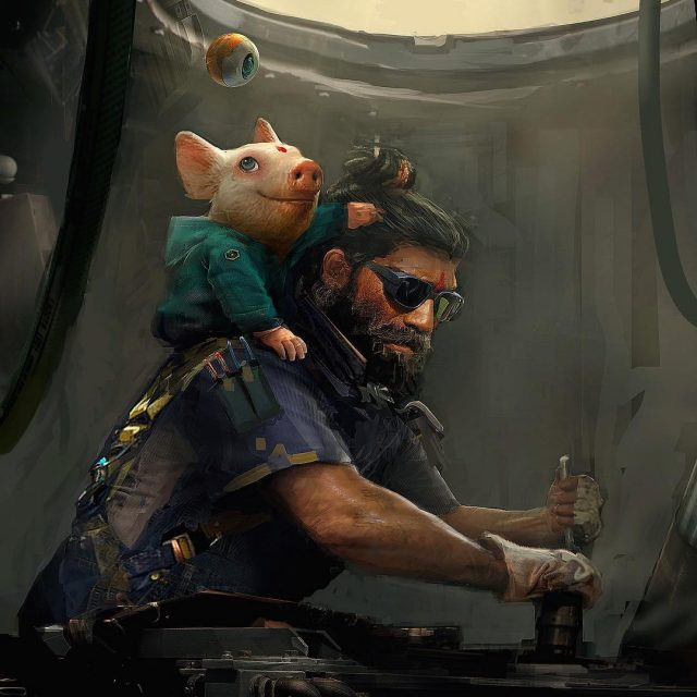Beyond Good & Evil Teaser Art