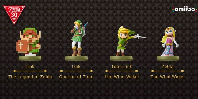 The Legend of Zelda amiibos