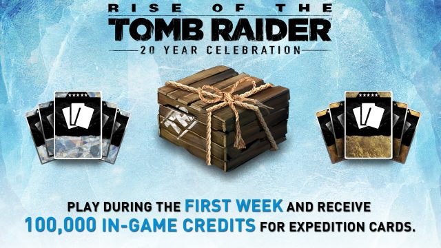Rise of the Tomb Raider: 20 Year Celebration Promo