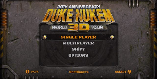 Duke Nukem 3D: 20th Anniversary Edition World Tour Cheat Codes