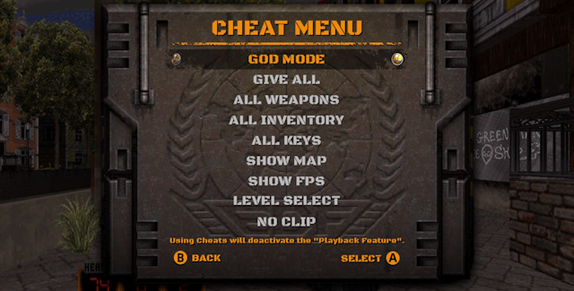 Duke D World Tour Cheats