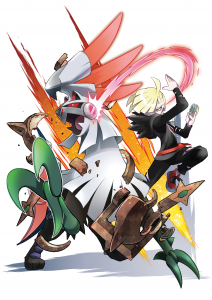 Pokemon Sun and Moon Silvally & Gladion