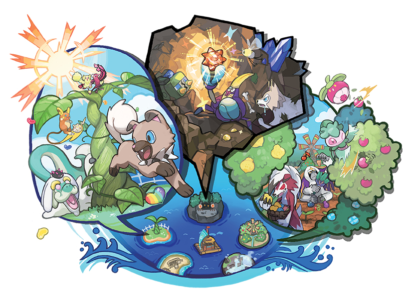 Pokemon Sun and Moon Poke Pelago