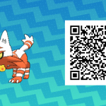 005 Pokemon Sun and Moon Shiny Torracat QR Code