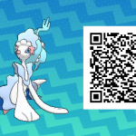 009 Pokemon Sun and Moon Primarina QR Code