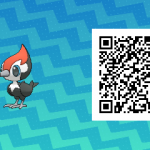 010 Pokemon Sun and Moon Pikipek QR Code