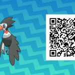 011 Pokemon Sun and Moon Trumbeak QR Code