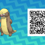 014 Pokemon Sun and Moon Gumshoos QR Code