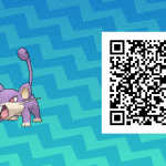 015 Pokemon Sun and Moon Male Rattata QR Code
