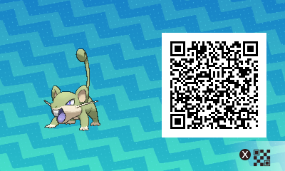 Pokemon Sun and Moon Where To Find Shiny Male Rattata