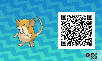 Pokemon Sun and Moon Where To Find Female Raticate