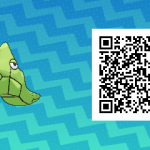 018 Pokemon Sun and Moon Metapod QR Code