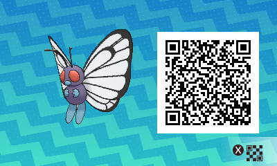 Pokemon Sun and Moon Where To Find Male Butterfree