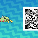 022 Pokemon Sun and Moon Spinarak QR Code
