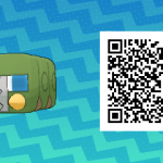 028 Pokemon Sun and Moon Charjabug QR Code