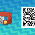 028 Pokemon Sun and Moon Shiny Charjabug QR Code