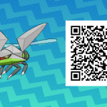 029 Pokemon Sun and Moon Shiny Vikavolt QR Code