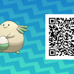 033 Pokemon Sun and Moon Shiny Chansey QR Code