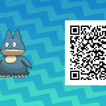 035 Pokemon Sun and Moon Munchlax QR Code