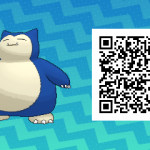 036 Pokemon Sun and Moon Shiny Snorlax QR Code