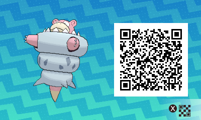038 Pokemon Sun and Moon Mega Slowbro QR Code