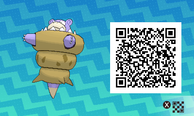 038 Pokemon Sun and Moon Shiny Mega Slowbro QR Code