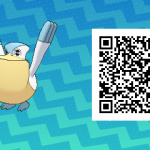 041 Pokemon Sun and Moon Pelipper QR Code