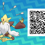 044 Pokemon Sun and Moon Mega Alakazam QR Code