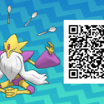 044 Pokemon Sun and Moon Shiny Mega Alakazam QR Code