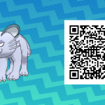 046 Pokemon Sun and Moon Alolan Persian QR Code