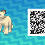 046 Pokemon Sun and Moon Persian QR Code