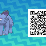 046 Pokemon Sun and Moon Shiny Alolan Persian QR Code