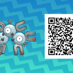 048 Pokemon Sun and Moon Magneton QR Code