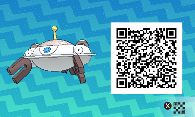 049 Pokemon Sun and Moon Shiny Magnezone QR Code