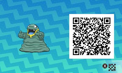 050 Pokemon Sun and Moon Alolan Grimer QR Code