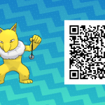 055 Pokemon Sun and Moon Male Hypno QR Code