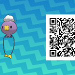 064 Pokemon Sun and Moon Drifloon QR Code