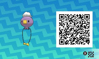 064 Pokemon Sun and Moon Drifloon QR Code