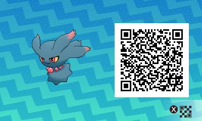066 Pokemon Sun and Moon Misdreavus QR Code