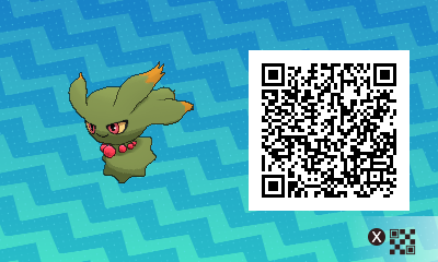 066 Pokemon Sun and Moon Shiny Misdreavus QR Code
