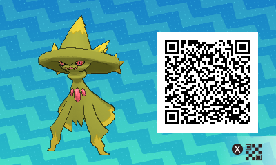 067 Pokemon Sun and Moon Shiny Mismagius QR Code
