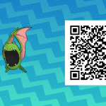 069 Pokemon Sun and Moon Shiny Female Golbat QR Code