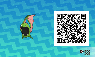 069 Pokemon Sun and Moon Shiny Female Golbat QR Code