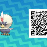 075 Pokemon Sun and Moon Rufflet QR Code