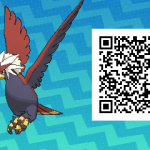 076 Pokemon Sun and Moon Braviary QR Code