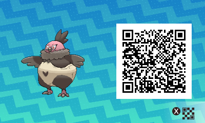 077 Pokemon Sun and Moon Vullaby QR Code